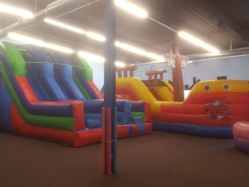 Rent one of our themed bounce houses