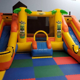 Rainforest Rapids Combo Toddler Duo Slide - $189